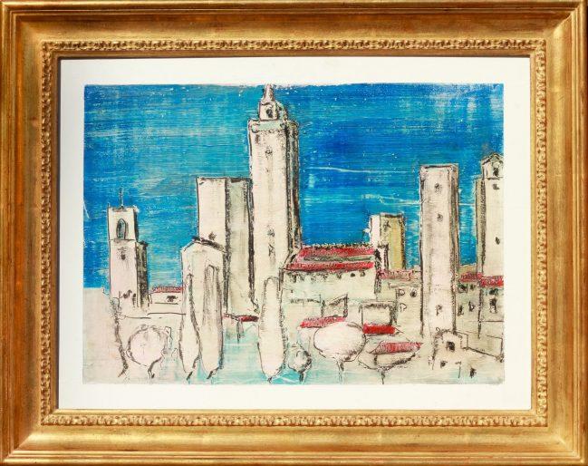 San Gimignano Blue 1