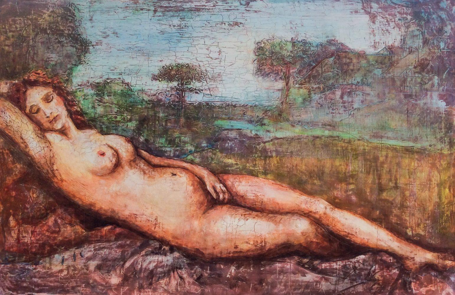 Nude Lying Venus 9