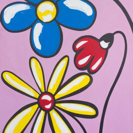 fiori, flowers, pop art