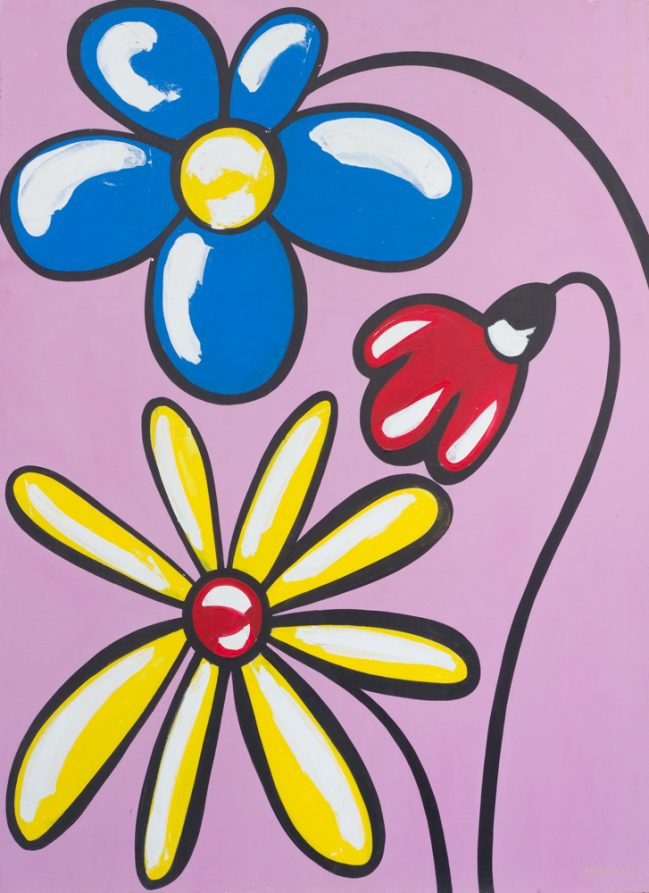 fiori, flowers, pop art
