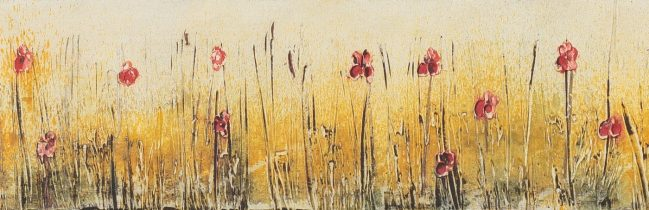 Poppies and Wheat 1