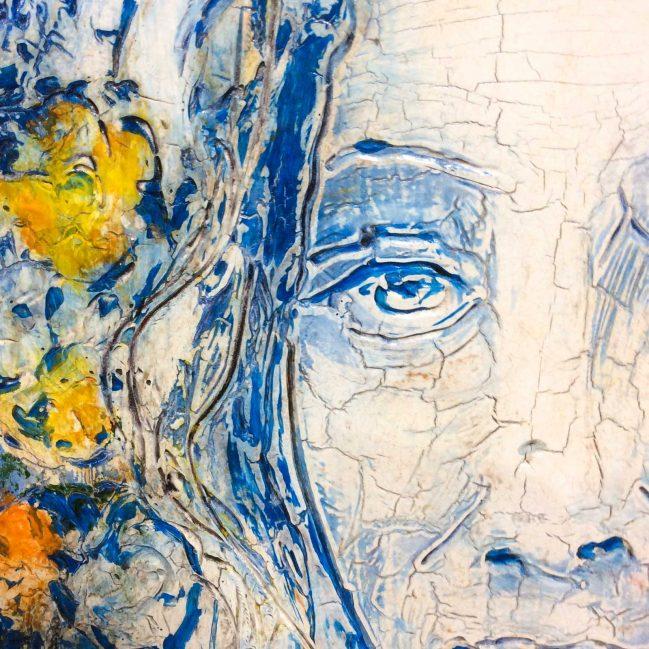 Flora Botticelli Blue 2