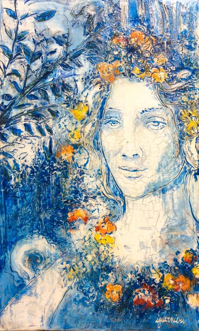 Flora Botticelli Blue 1