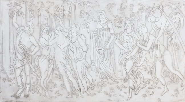 Primavera Botticelli Antique Gypsum 1