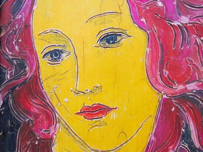 Venus in Yellow and Pink 2