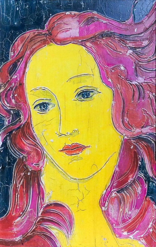 Venus in Yellow and Pink 1