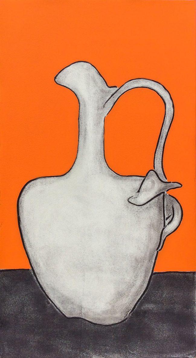 Vase in Orange 1