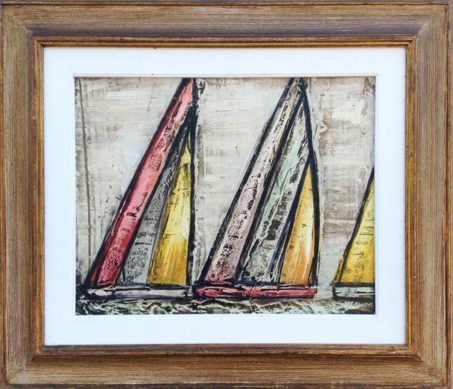 Sail Boats colored 2