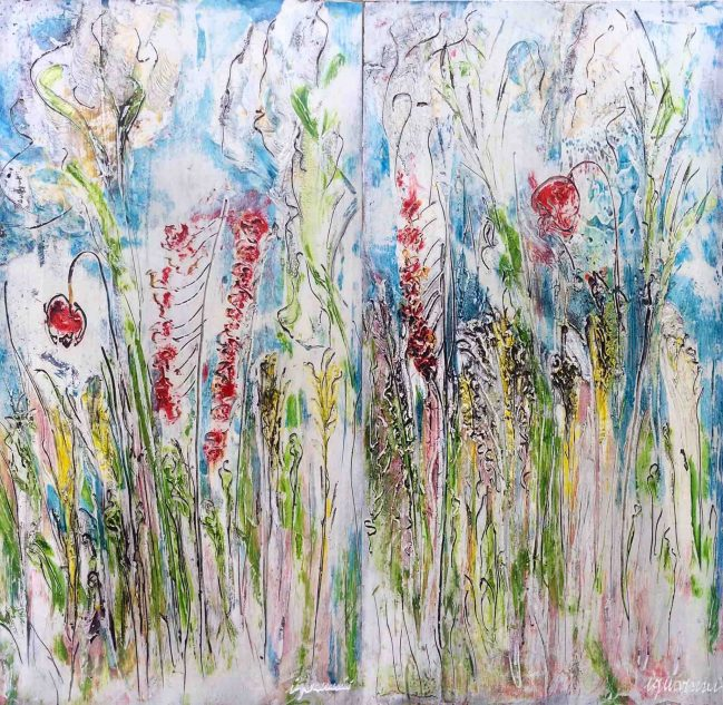 flowers artwork