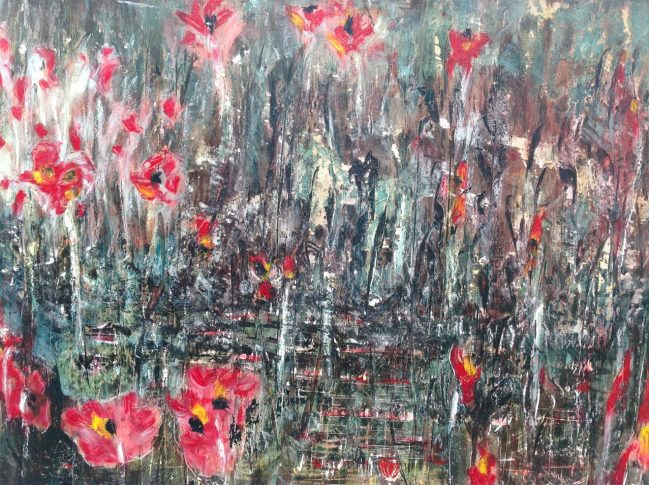 Poppies meadow 2