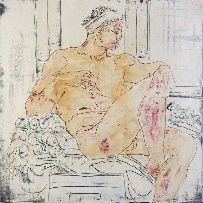 Ignudo Michelangelo 1