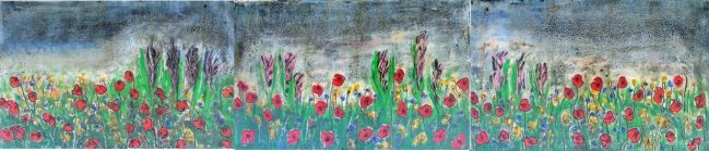 Poppies Triptych 1