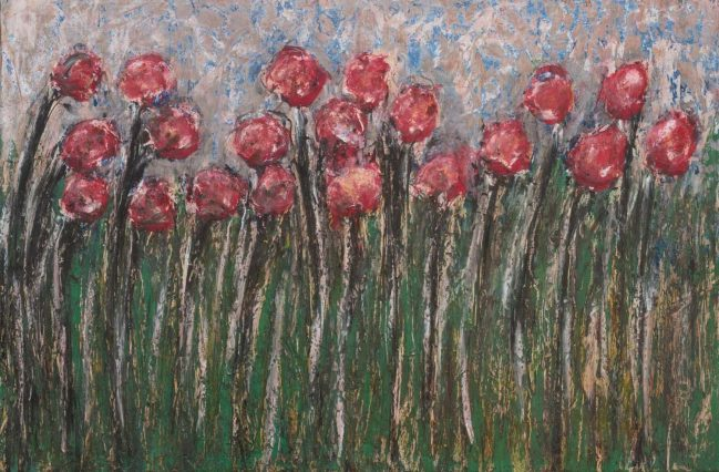 Poppies and grass 1