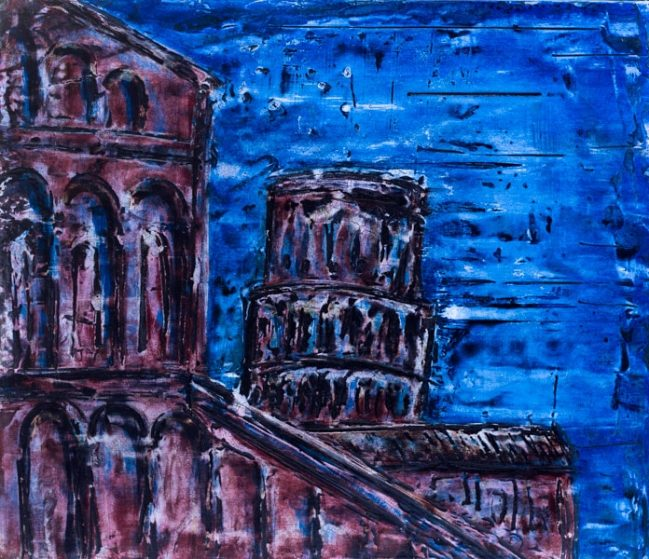 Pisa in blue 1