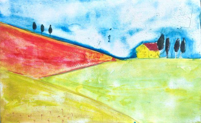 Colline Toscane Colorate 1