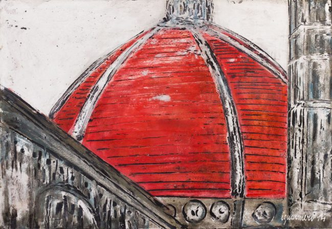 Dome Florence in black and red 1