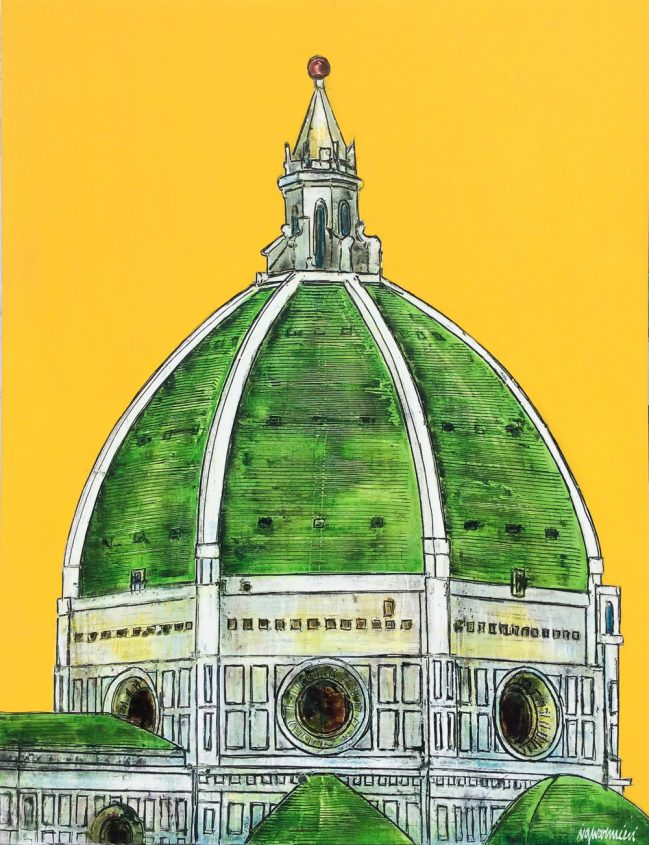 Florence Dome Green II 1