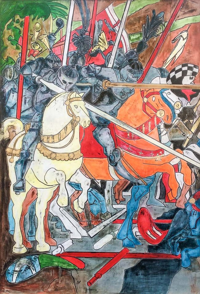 Paolo Uccello's Battle Detail 1