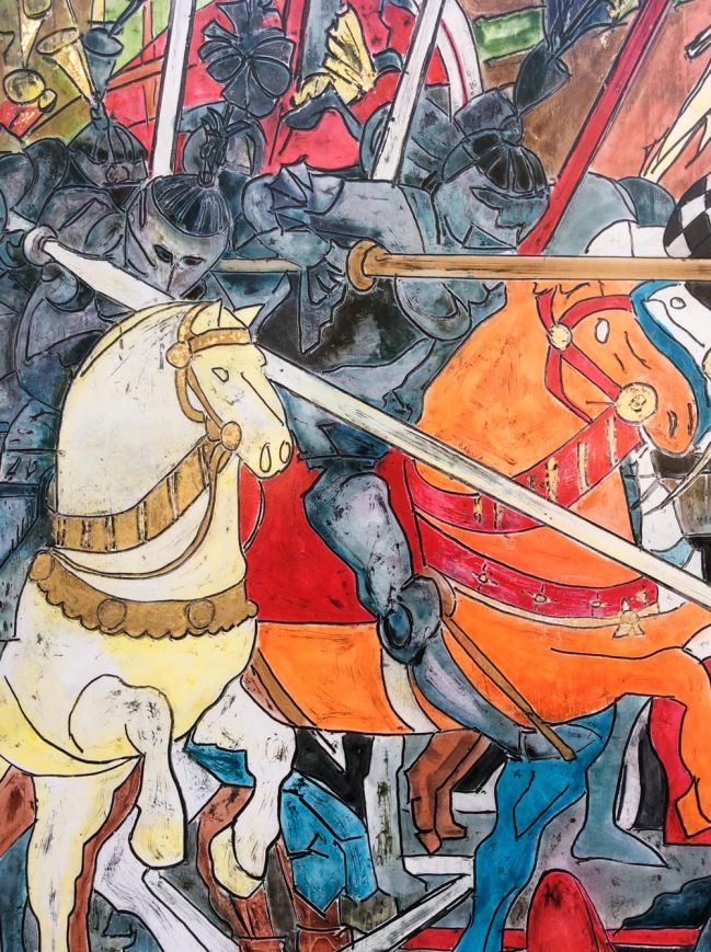 Paolo Uccello's Battle Detail 3