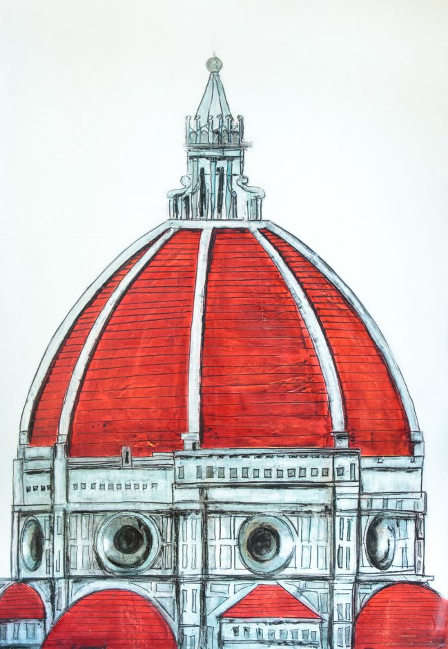 Florence Dome Red 1