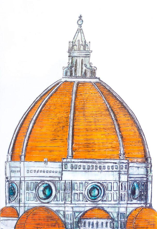 Florence Dome Orange 1