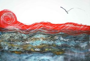 sea and seagull iguarnieri contemporary art