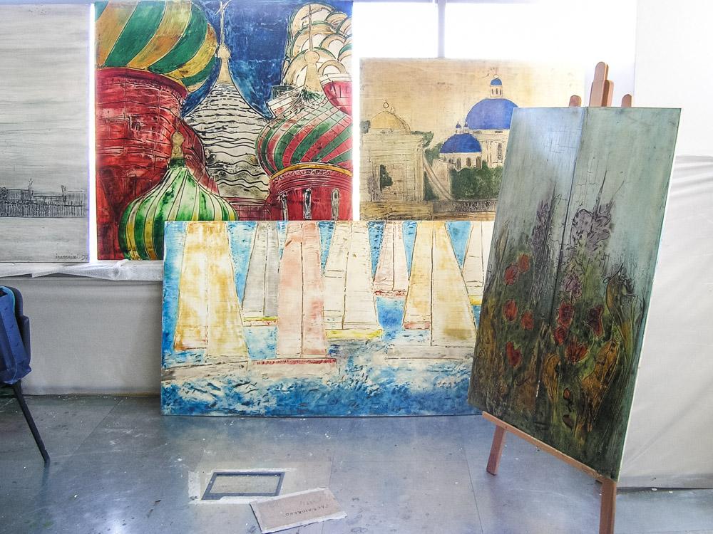 Iguarnieri art exhibition Moscow 5
