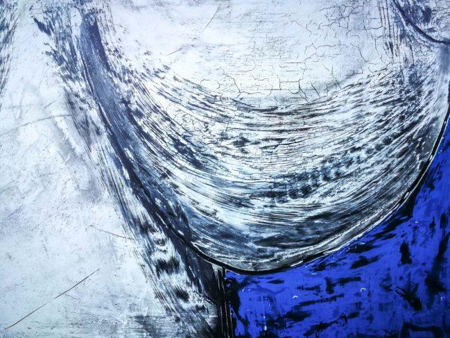 Torso woman in blue 2