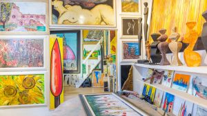 private art gallery studio florence