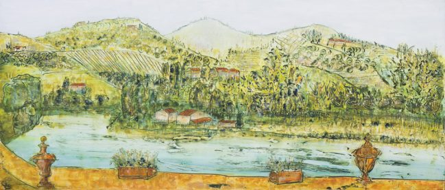 Villa La Massa Landscape 1
