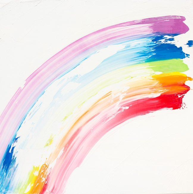 Rainbow square 1