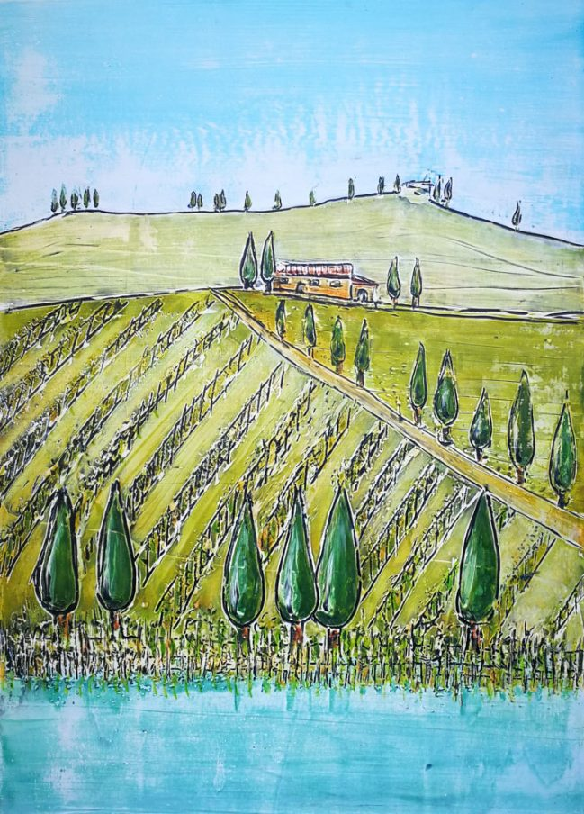 Tuscany Hills and Countryside 1