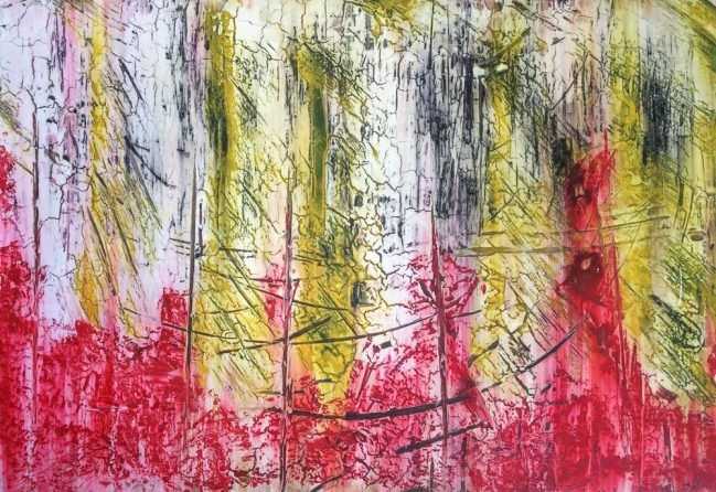 Abstract Red 1