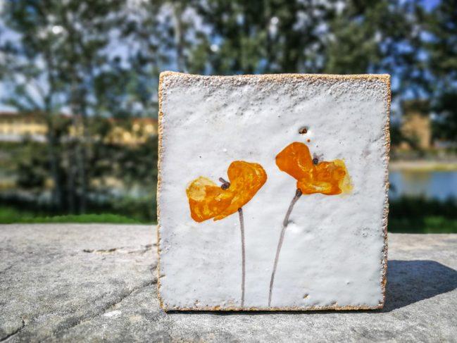 Poppies Stele 3