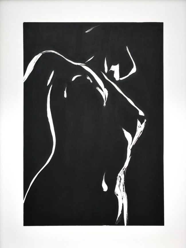 Nude B & W slice II 2