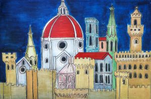 art gallery florence, contemporary art, buy original art