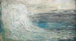 ocean wave, master piece contemporary art florentine art