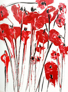 Bouquet poppies red II 3