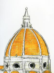 Dome orange 60 x 80-7 3