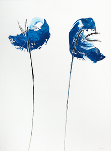 blue poppies 60 x 80-5 1