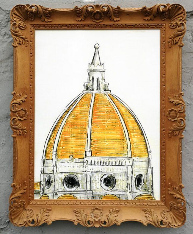 florence dome framed