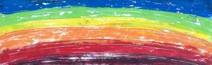 arcobaleno dipinto