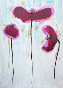 wooden poppies