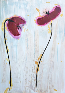 wooden poppies