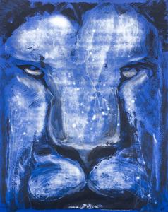 lion artwork graffito