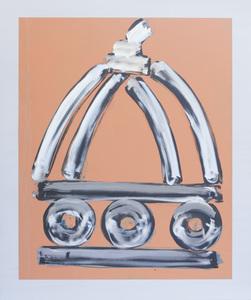 Dome silver peach