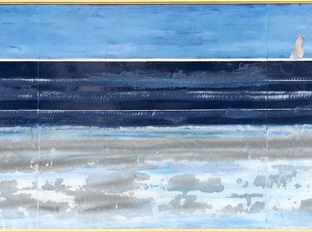 seaside painting