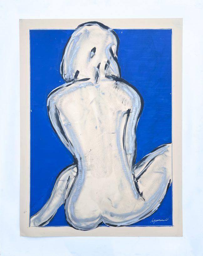 Nudo al mare blu 1