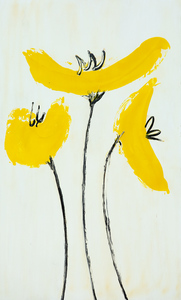 iguarnieri yellow poppies