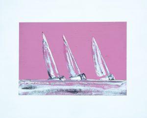 regatta in pink